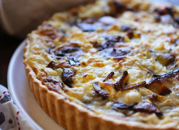Quiche - Chicken, Mushroom and Thyme