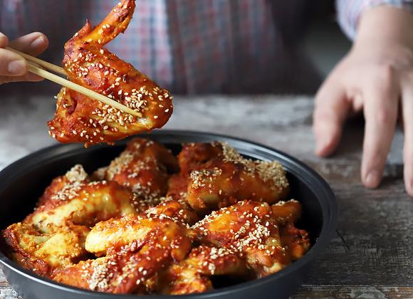 Sticky Asian Sesame Chicken Wings
