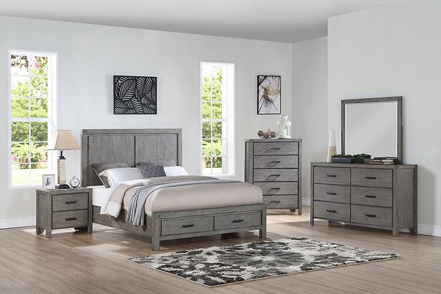 Copeland Gray Bedroom Group