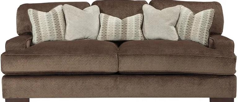 Fielding Sofa and Chair- Chocolate