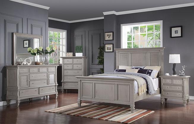 Grey Belmar Bedroom Group
