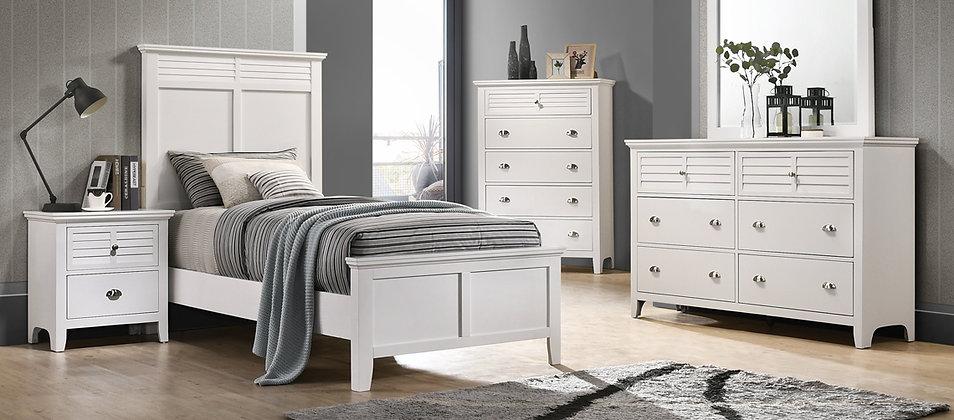Cottage Bay White Bedroom Group