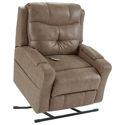 Frisco Tobacco Lift Recliner w/ Outlet+USB