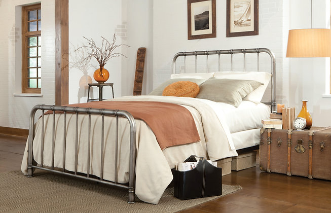 Tristen Pewter Bed