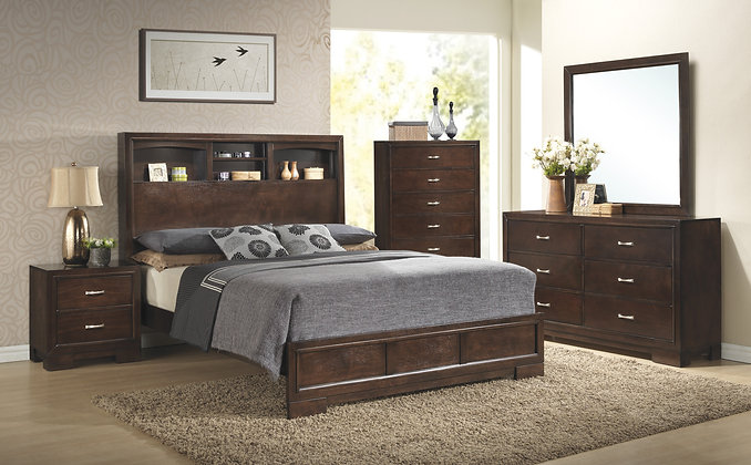 Walnut Bedroom Group