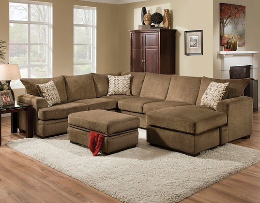 Cornell Cocoa Sectional