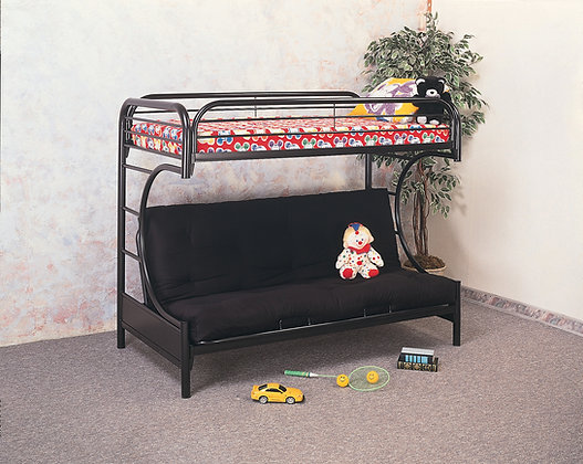 Twin/Full Metal  Futon Bunkbed