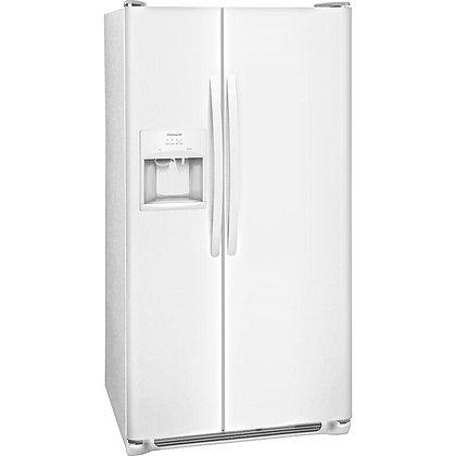 25.5 cu. ft. Side by Side Refrigerator in White