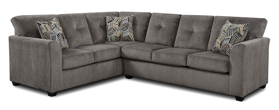 Kennedy Chocolate & Kennedy Grey Sectionals