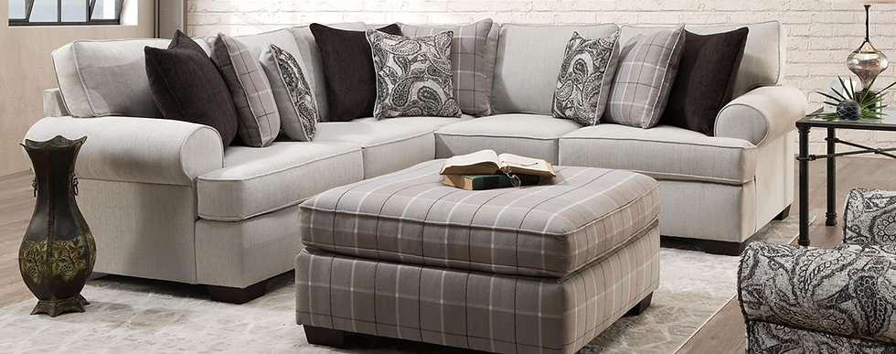 Griffin/Cooper Alabaster Sectional