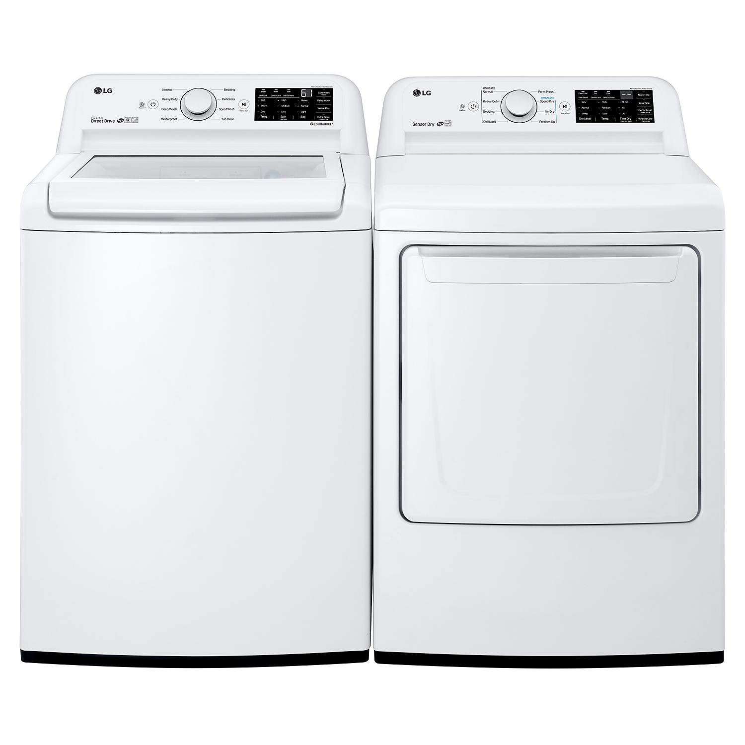 LG Side-By-Side Washer & Dryer Set