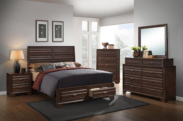 Antique Walnut Bedroom Group