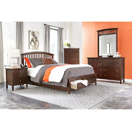 Bourbon Bedroom Group