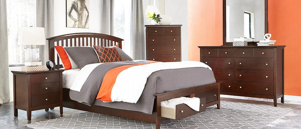 Bourbon Bedroom Group