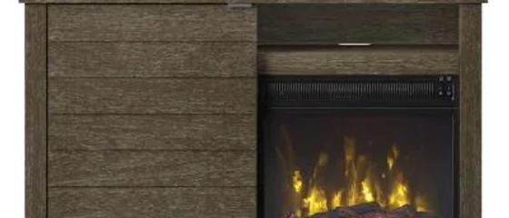 """54"""" Hooper Oak Fireplace"""