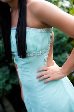 close up lauren prom