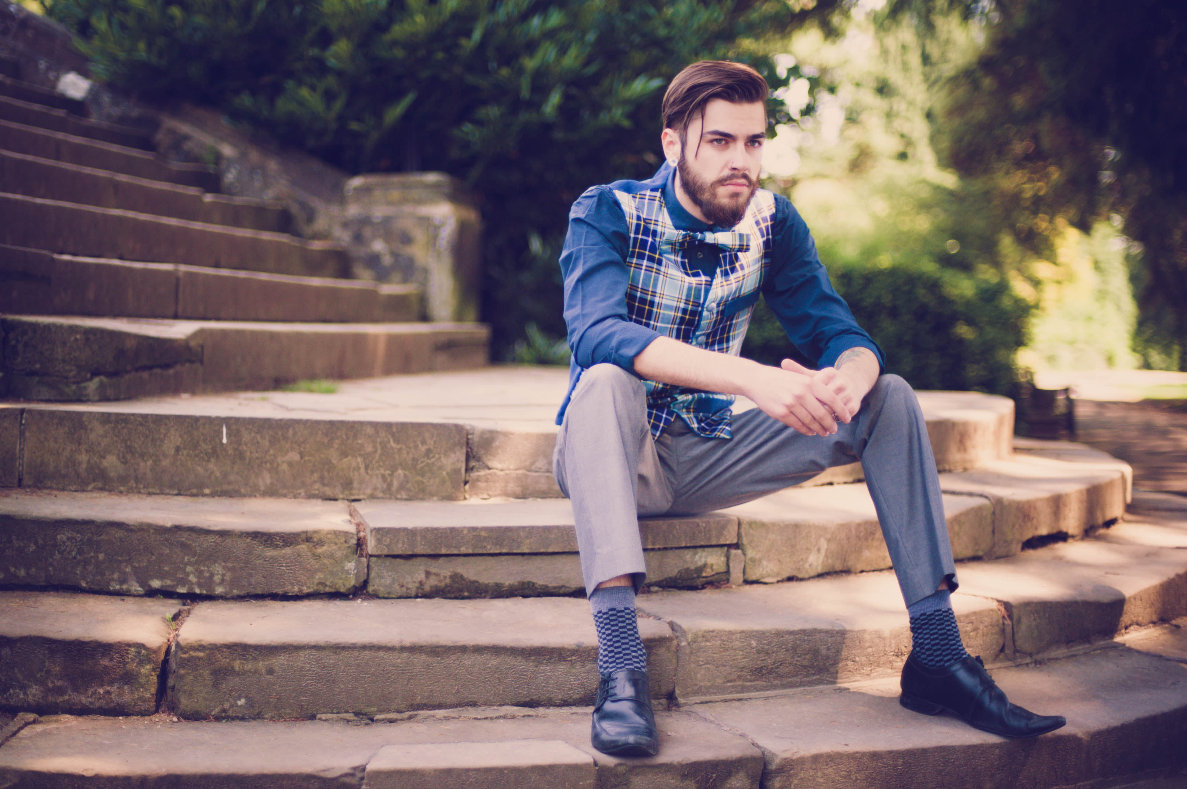 men's reversible waistcoat
