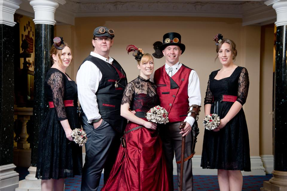 Keyward steampunk wedding