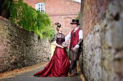 keyward steampunk wedding