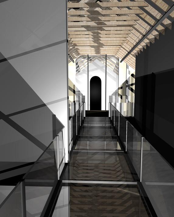 Elevetated Walkway (Interior)