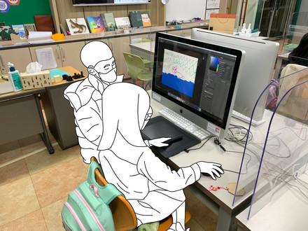 Digital Drawing After School Activity