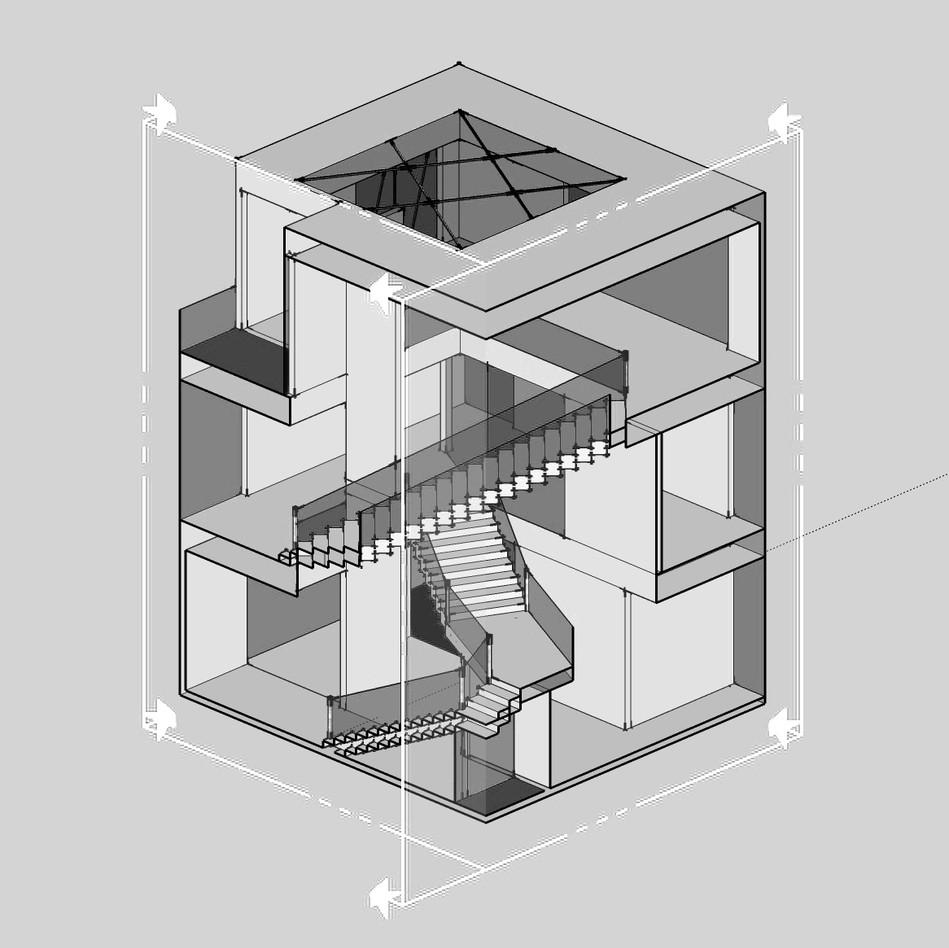 Section Axonometric
