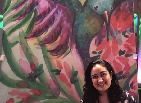 Maite Marin - pintado el mundo con todos los colores del arcoíris