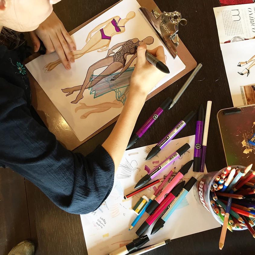 Taller de Ilustracion de Moda - Principiantes