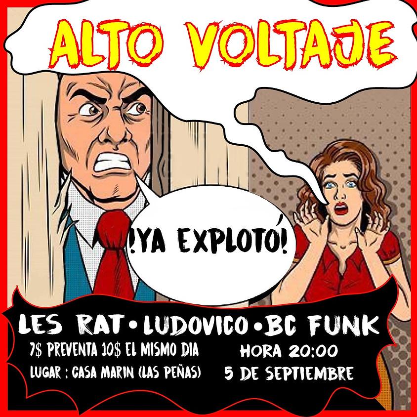 Concierto Les Rat - Ludovico en Casa Marin
