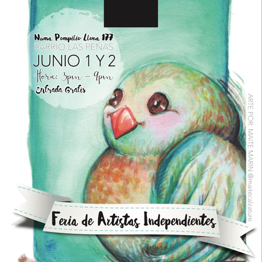 Feria de Artistas Independientes - Junio