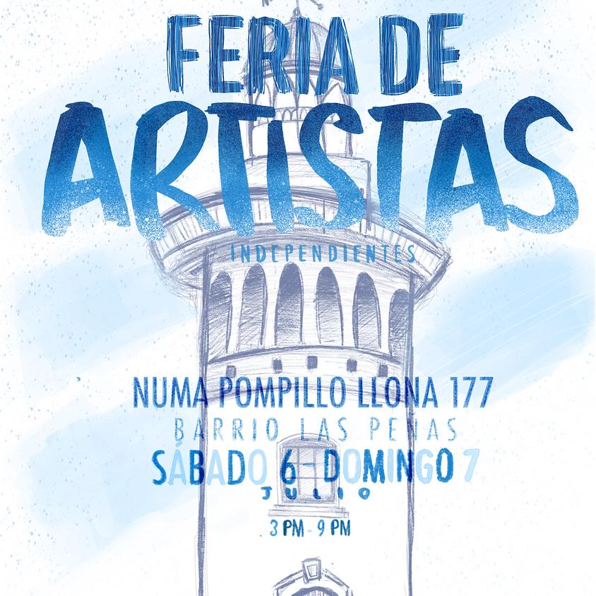 Feria de Artistas Independientes - Julio