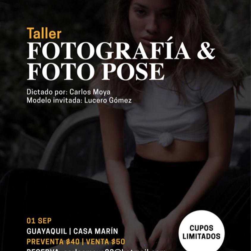 Taller de Fotografía y Foto Pose con Carlos Moya