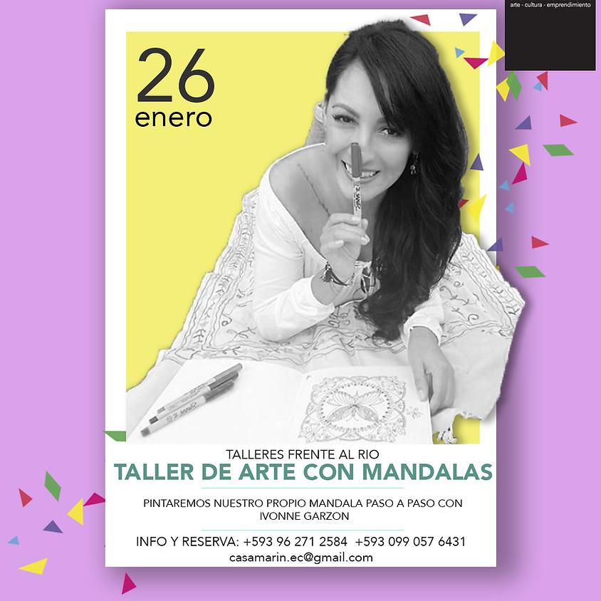 Taller de Arte con Mandalas con Ivonne Garzon