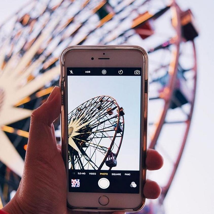 Workshop de Fotografía con Smartphones o Camaras digitales