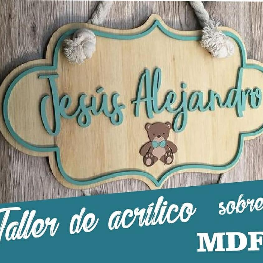 Taller Acrilico sobre Madera con RESPIRART