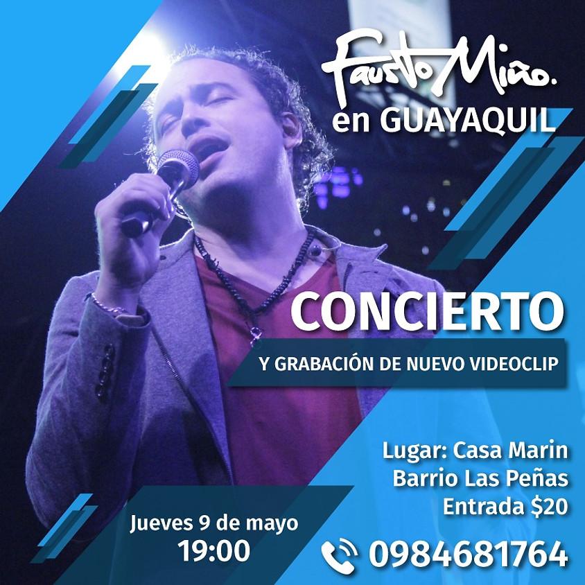 Fausto Miño en Guayaquil