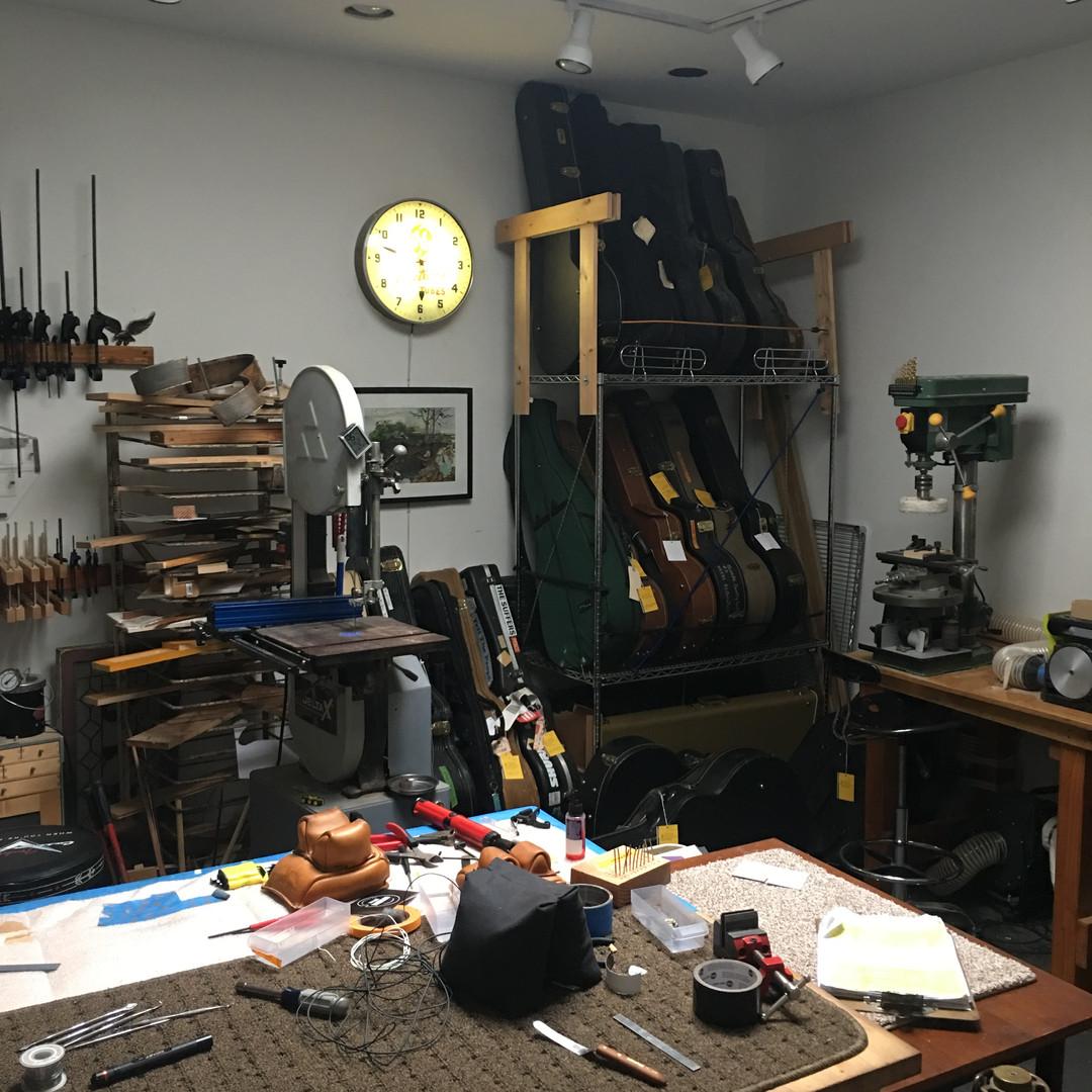 Our Shop at Rest