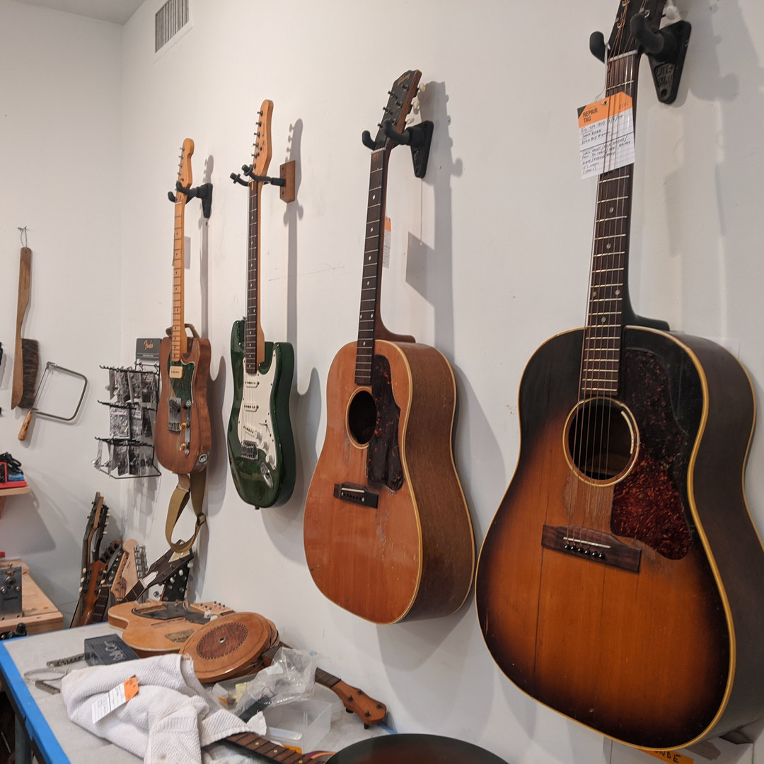 More Guitars in Line for Work