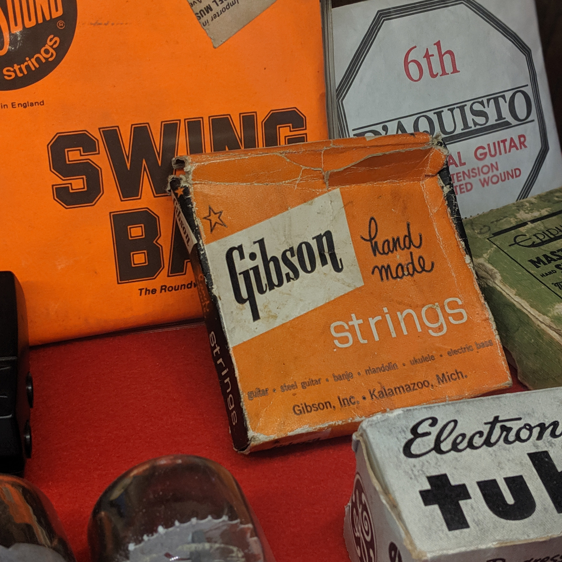 Old Strings and Tubes