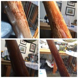 Orchestral Harp Restoration