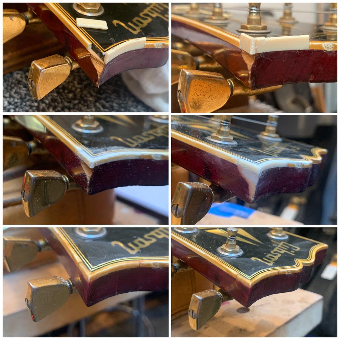 Replacing Binding in Gibson Les Paul