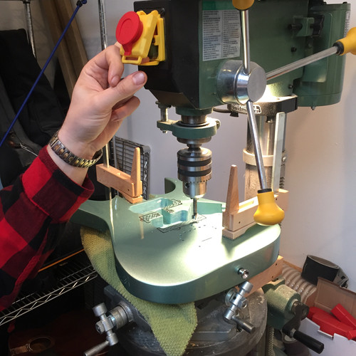 Routing with Milling Table