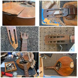 Eastern European Mandolin Restoration