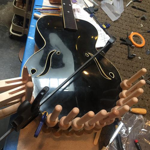 1930's Paramount Guitar Restoration