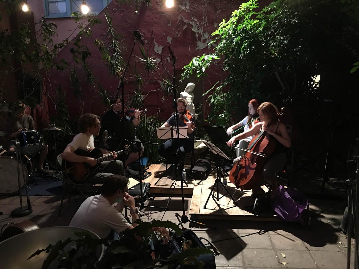 "Sound Check for ""Evan Vidar With Strings"", 8/18/2018"