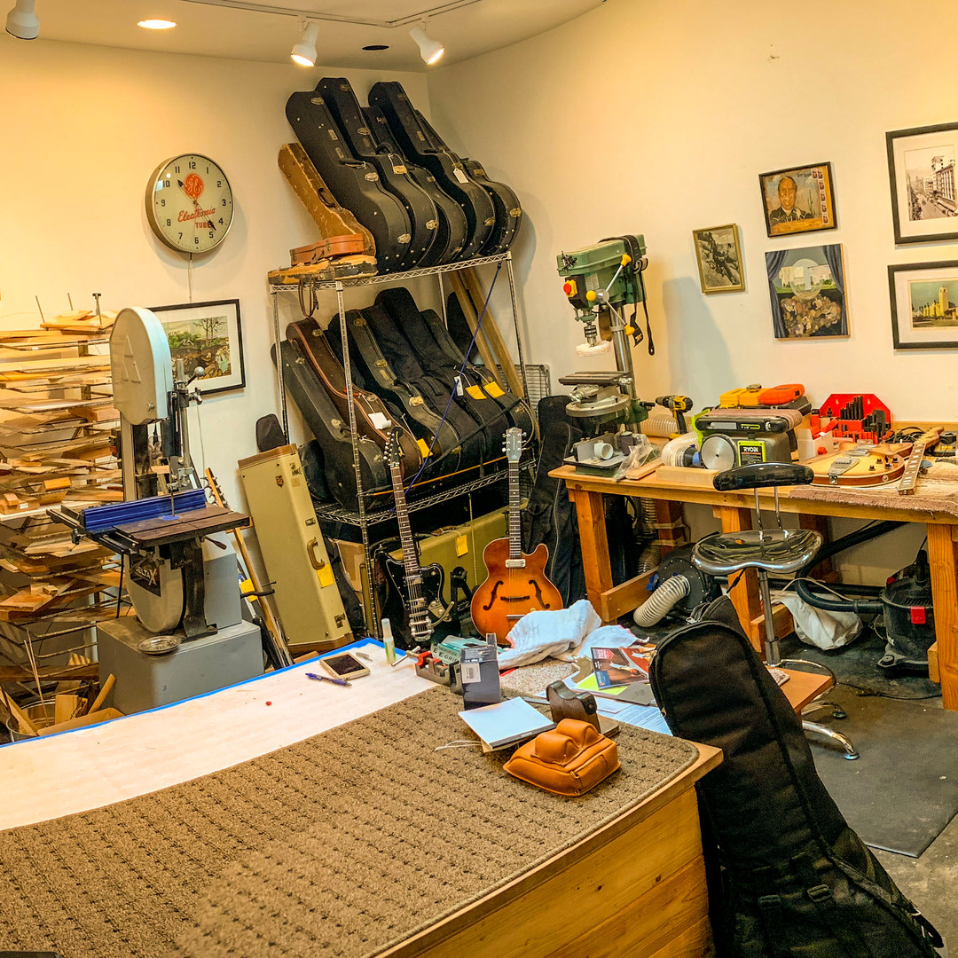 Panoramic of the Shop