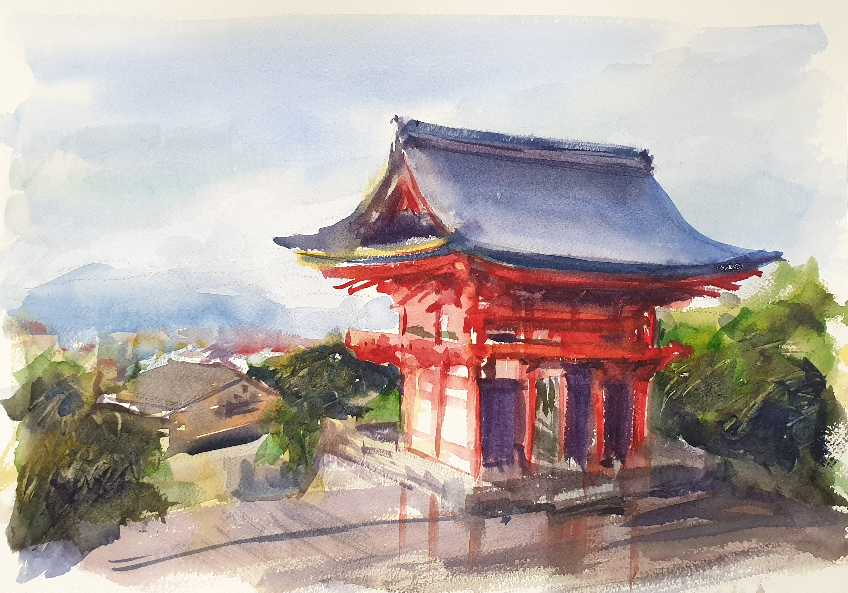 Kyoto After The Rain