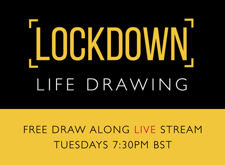 Free Life Drawing Stream - Live on YouTube