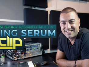 The Best Sound-designed Bass-line using Serum