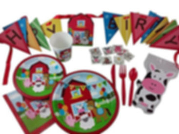 Farmhouse fun birthday party